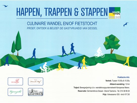 Happen, trappen en stappen in Dessel